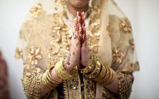 Алжирская свадьба — как невеста входит в дом