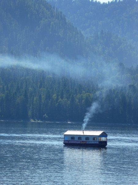 Артыбаш, Телецкое озеро