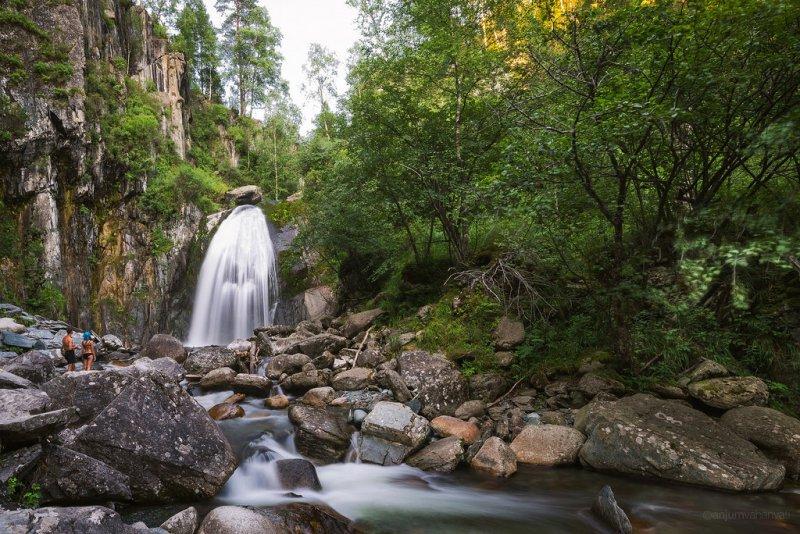 Водопад Корбу, Алтай
