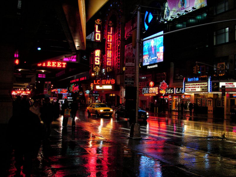 Ночной Бродвей
