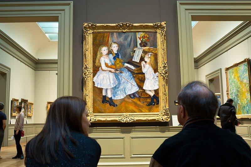Галерея картин в Метрополитен-музее