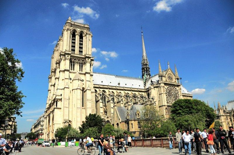 Внешний вид Собора Парижской Богоматери