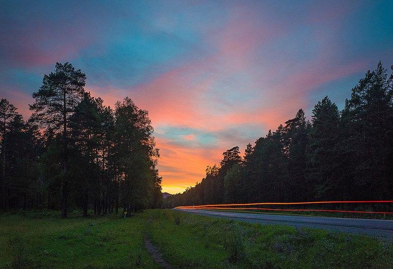 Дорога в Алтае