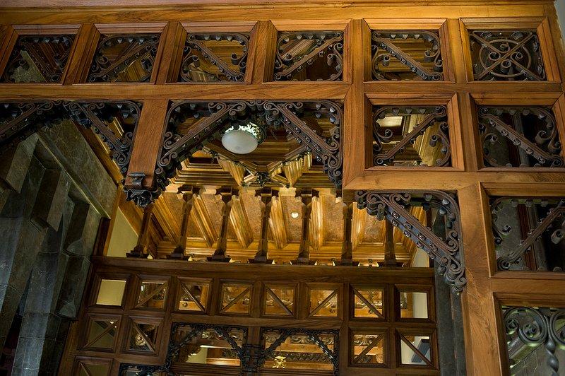 Декоративные элементы во дворце