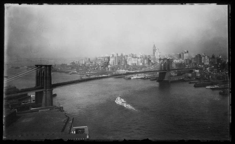 Старая фотография моста