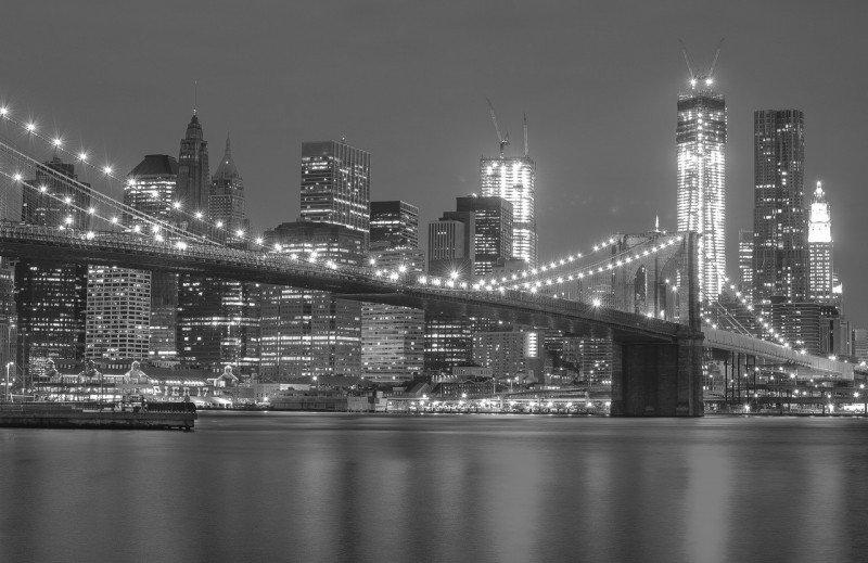 Ночной вид на мост