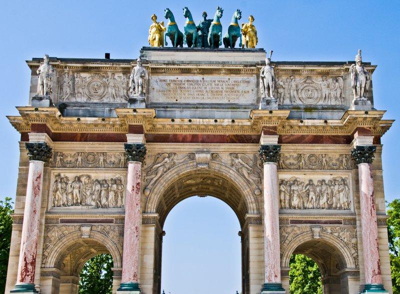Арка в Париже