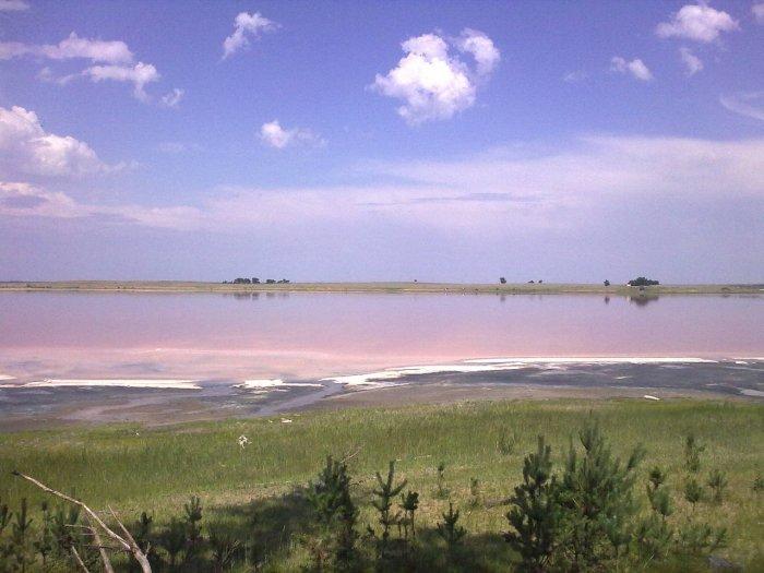 Малиновое озеро на Алтае, Россия