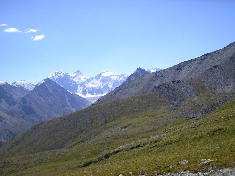 Вид на Белуху