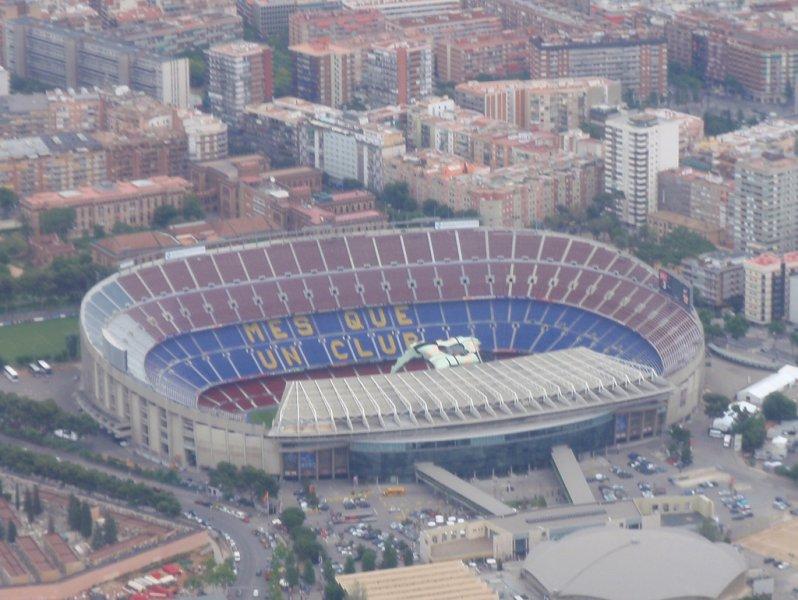 Стадион Камп Ноу, Барселона, Испания