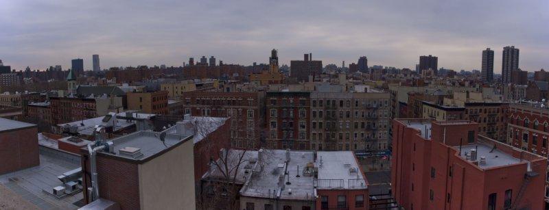Вид на Гарлем, Нью-Йорк
