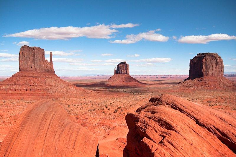 Вид на пустыню в Аризоне - 3