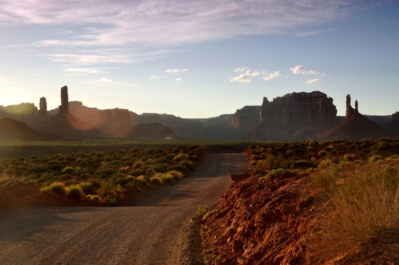 Вид на пустыню в Аризоне - 2