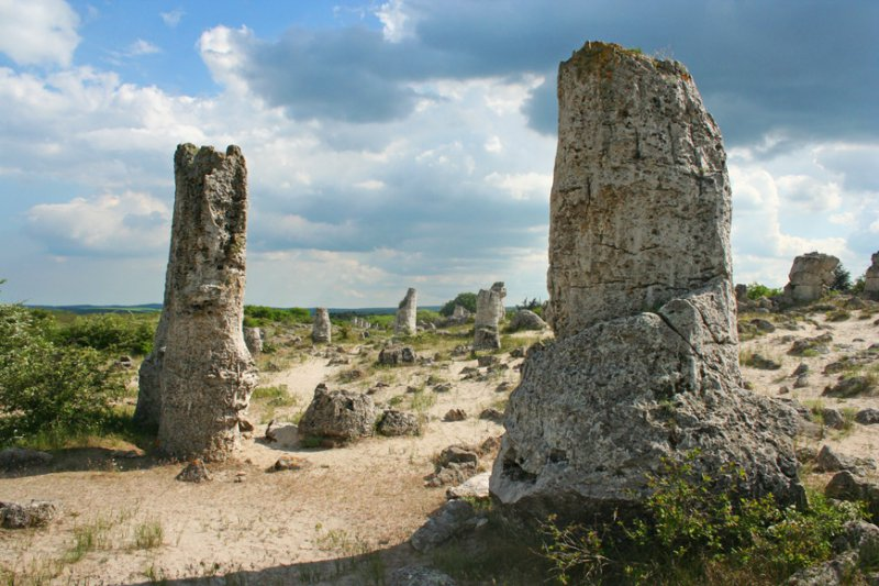 Каменный лес в Болгарии - фото 3
