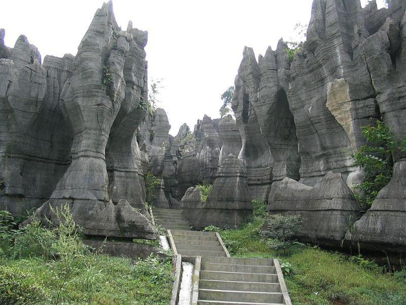 Лестница в каменном лесу, Китай