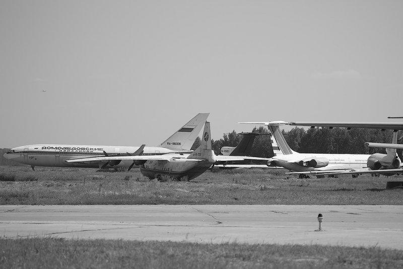 Кладбище самолетов в Домодедово