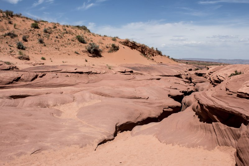 Вход в каньон Антилопы