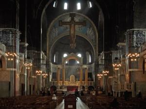Внутри Вестминстерского собора