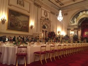 Внутренние помещения Букингемского дворца