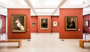 Галерея живописи в Лувре