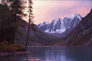 Вечер на Шавлинском озере
