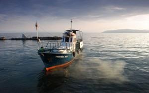 Лодка на Байкале