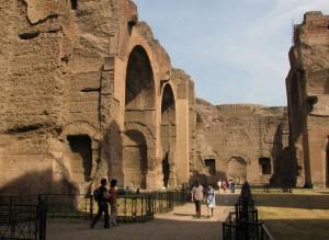 Термы Каракаллы, Рим