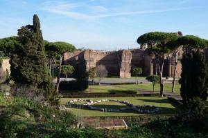Сад Терм Каракаллы, Рим, Италия