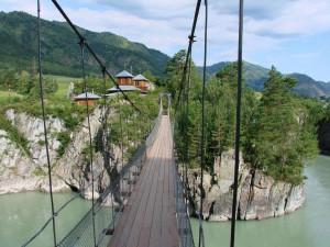 Подвесной мост, остров Патмос, Алтай