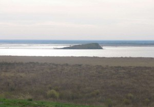 Остров в Новосибирском водохранилище