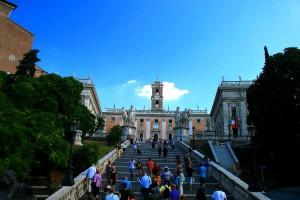 Лестница Кордоната, Рим