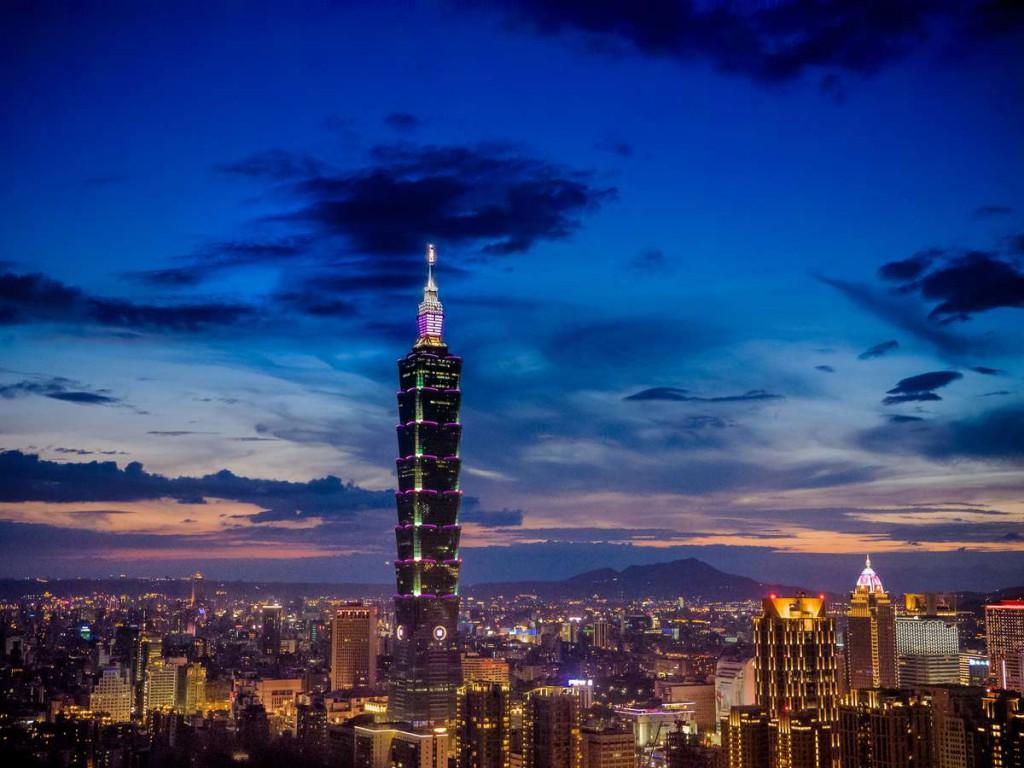 Тайбэй 101 – 509 метров, Тайвань