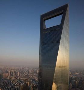5 место. Всемирный финансовый центр – 492 метра, Китай