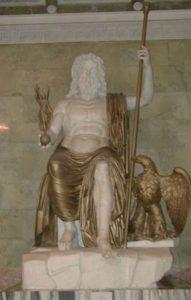 Статуя Юпитера — древнеримского бога громовержца, Эрмитаж, Санкт-Петербург