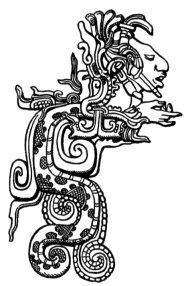 Кукулькан в образе змея