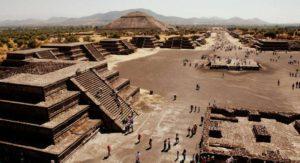 Пирамиды Теотиуакана