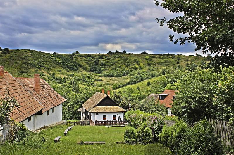 Венгерская деревня Холлокё