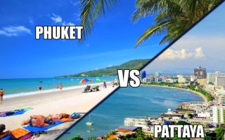 Паттайя или Пхукет — куда лучше?