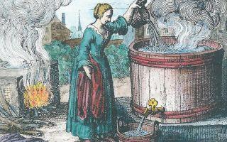 А вы знали, как стирали белье во времена Тюдоров?