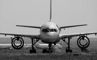 Основные кладбища самолетов России