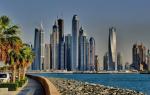 Температура воды и воздуха в Дубае на январь-2020