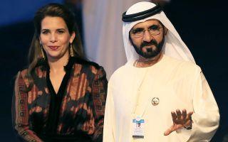 Правитель Дубая и его семья (жены и дети)