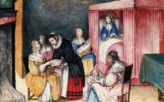 А вы знали, как рожали королевы в Средние века?