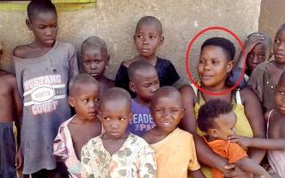 В Африке 39-летняя мать-одиночка родила 38 детей