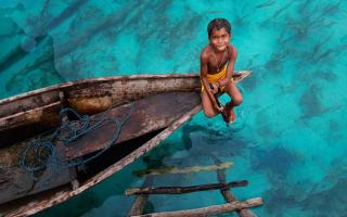 Удивительное племя баджао! Они не ходят по земле
