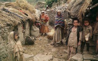 Как живут низшие касты в Индии