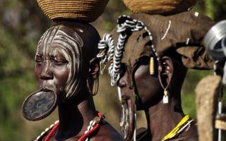 Самые опасные и странные племена