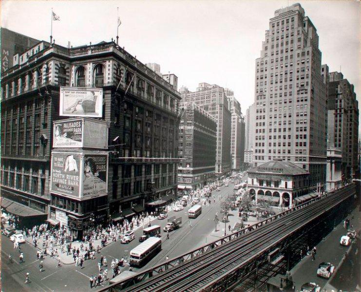 Фото Бродвея XX века