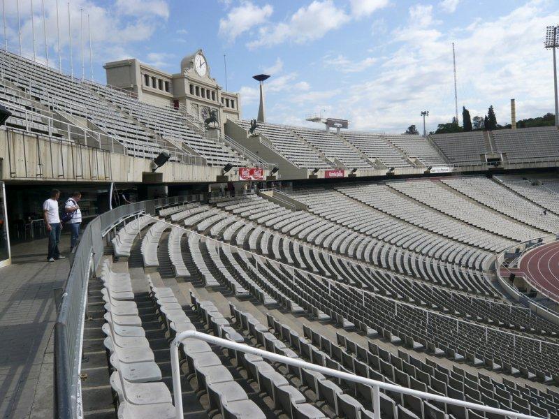 Олимпийский стадион, Монжуик