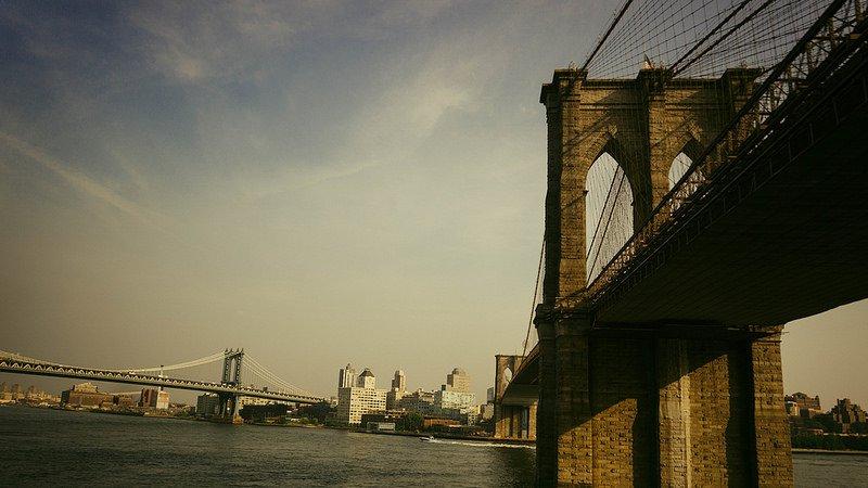 Вид на знаменитый мост